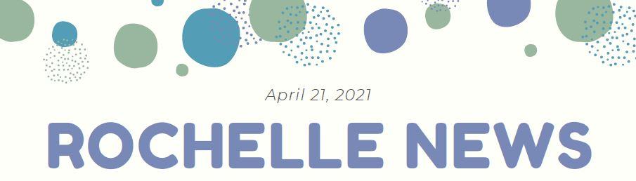 Polka Dots, Text: Rochelle News
