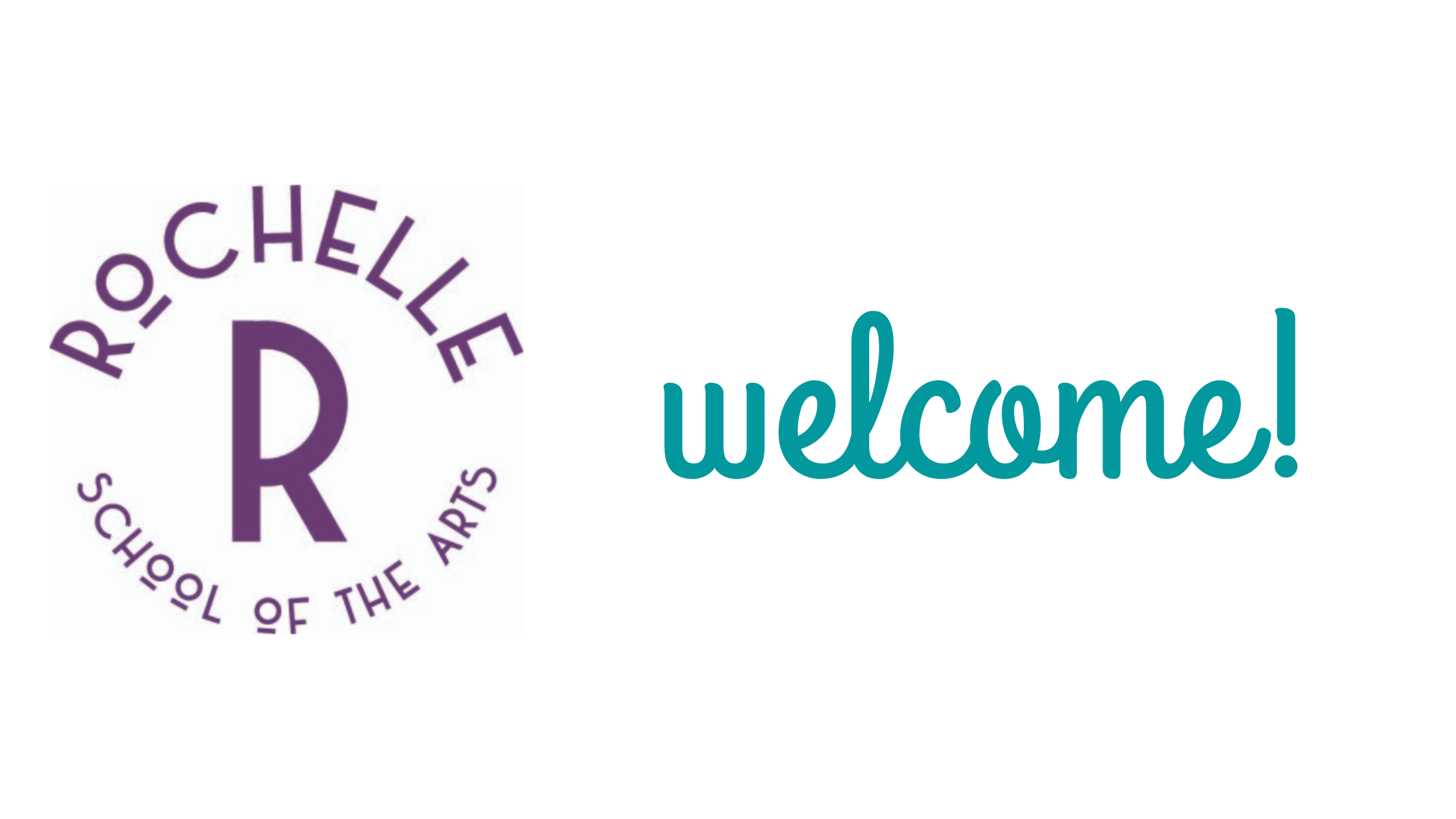 Rochelle logo, text: welcome