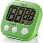 green, digital timer